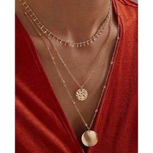 Jewelry - ⭐3/$30 | Layered Gold Coin Charm Necklace